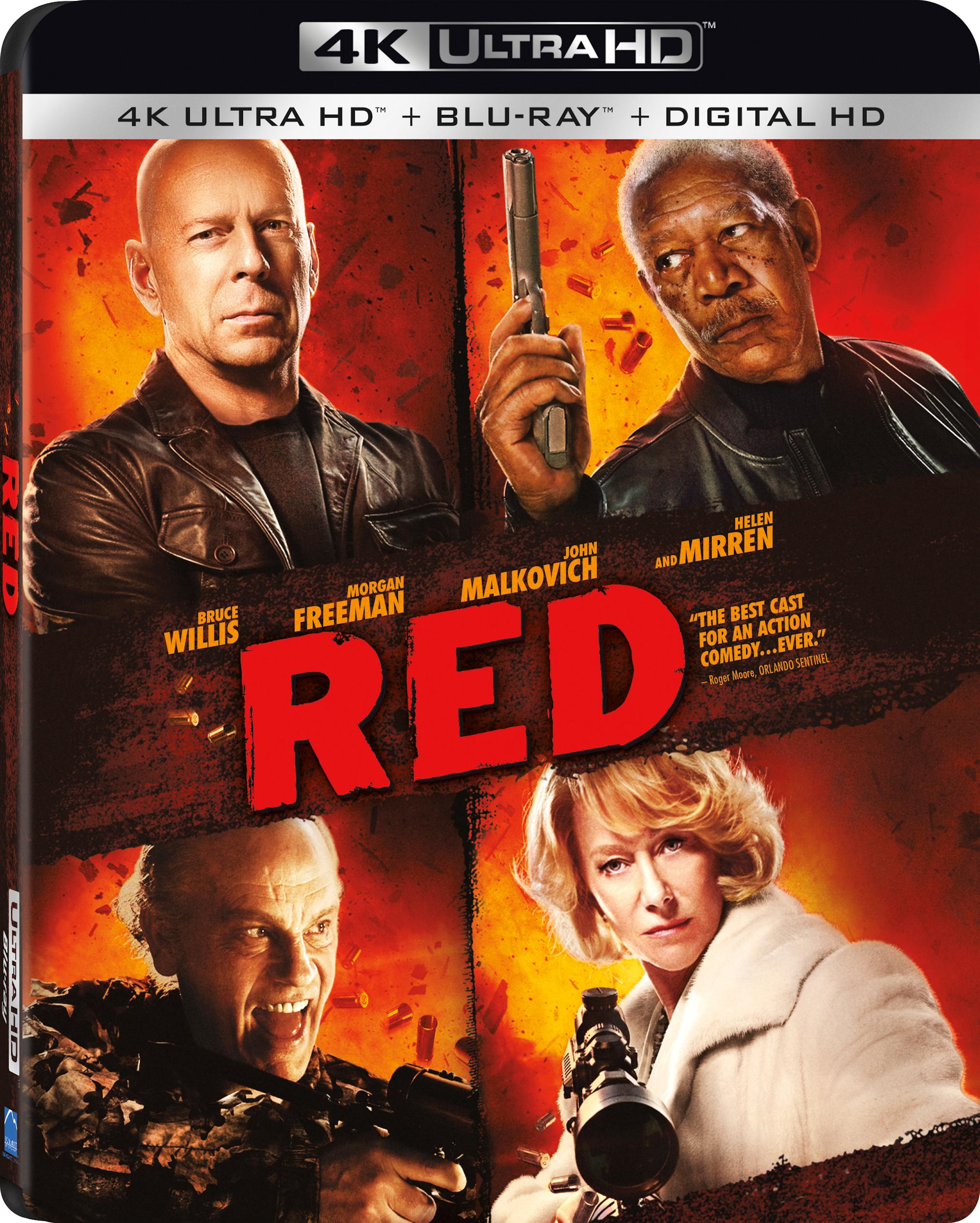 RED (2010) 4K Ultra HD Blu-ray