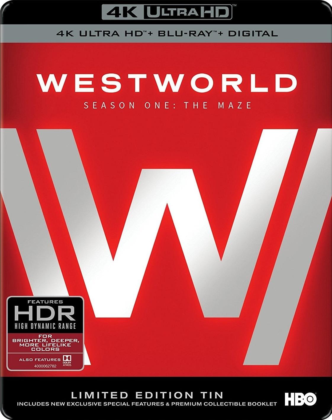 Westworld: Season One (TV) (2016) 4K Ultra HD Blu-ray