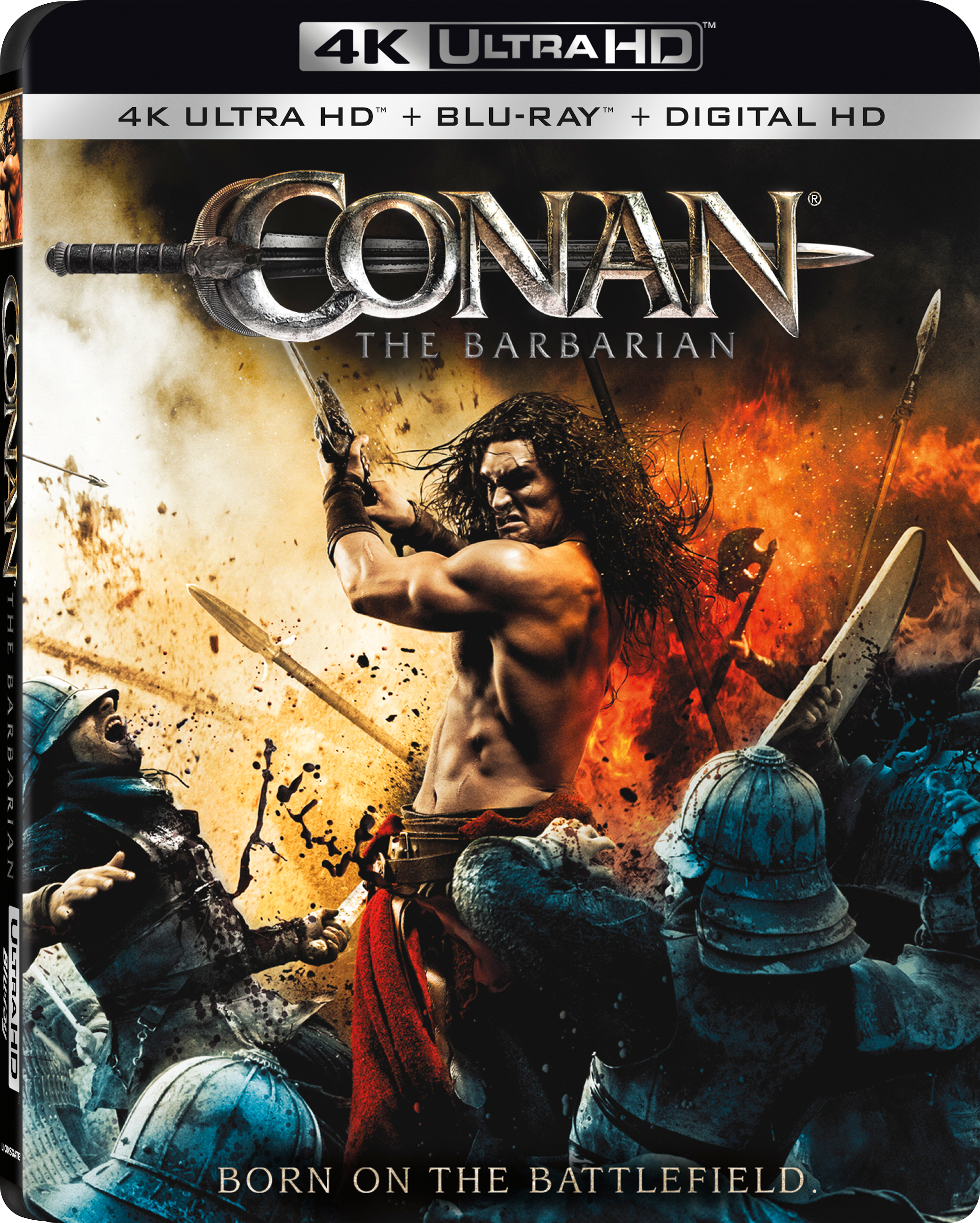 Conan the Barbarian 4K (2011) Ultra HD Blu-ray