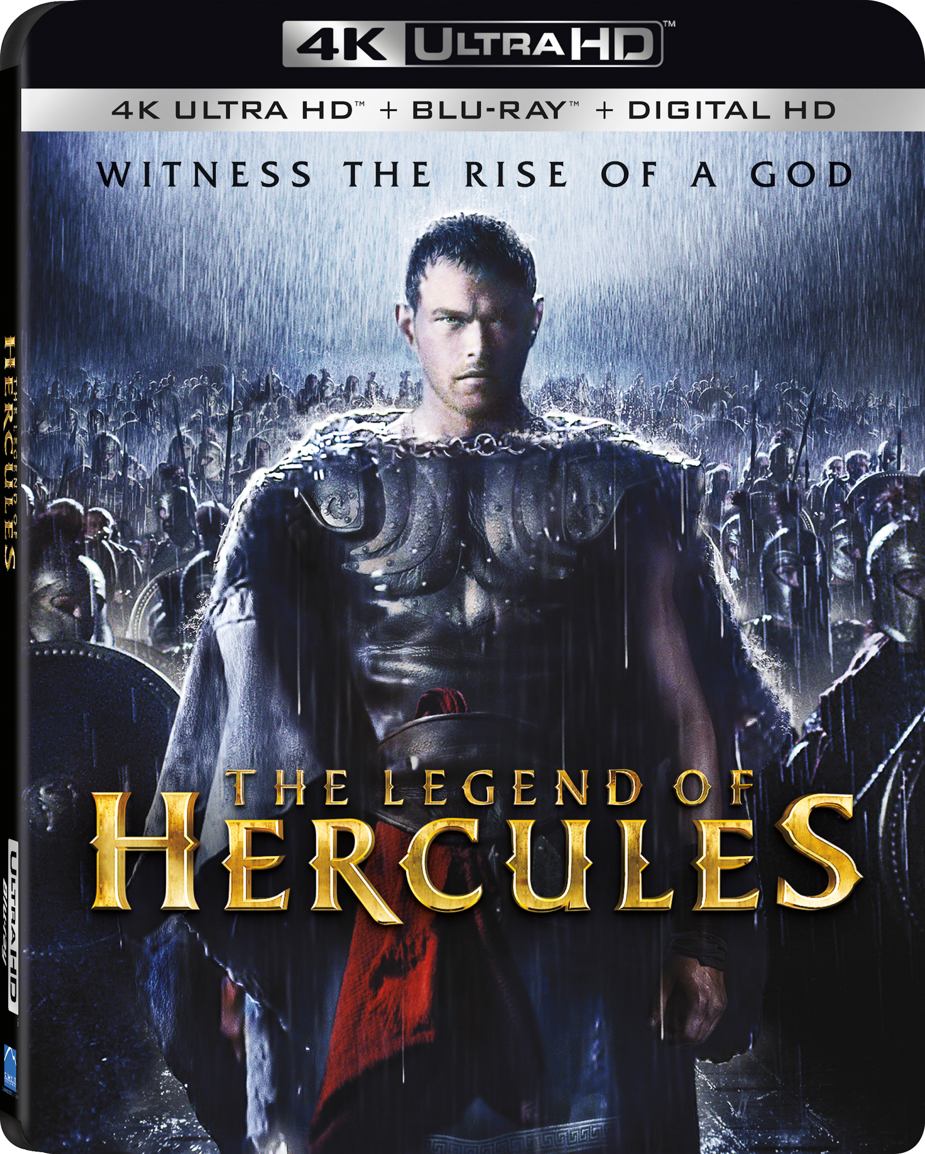 The Legend of Hercules 4K (2014) 4K Ultra HD Blu-ray