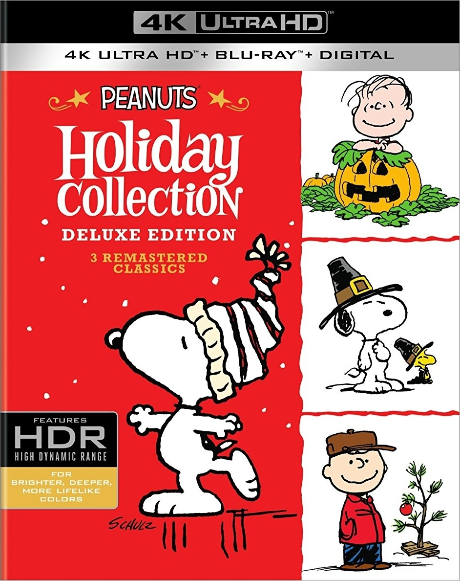Peanuts: Holiday Collection 4K (TV) (1965-1973) Ultra HD Blu-ray