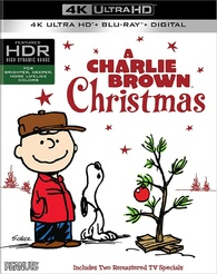 Its Christmas Time Again Charlie Brown.A Charlie Brown Christmas 4k Blu Ray Release Date October 31