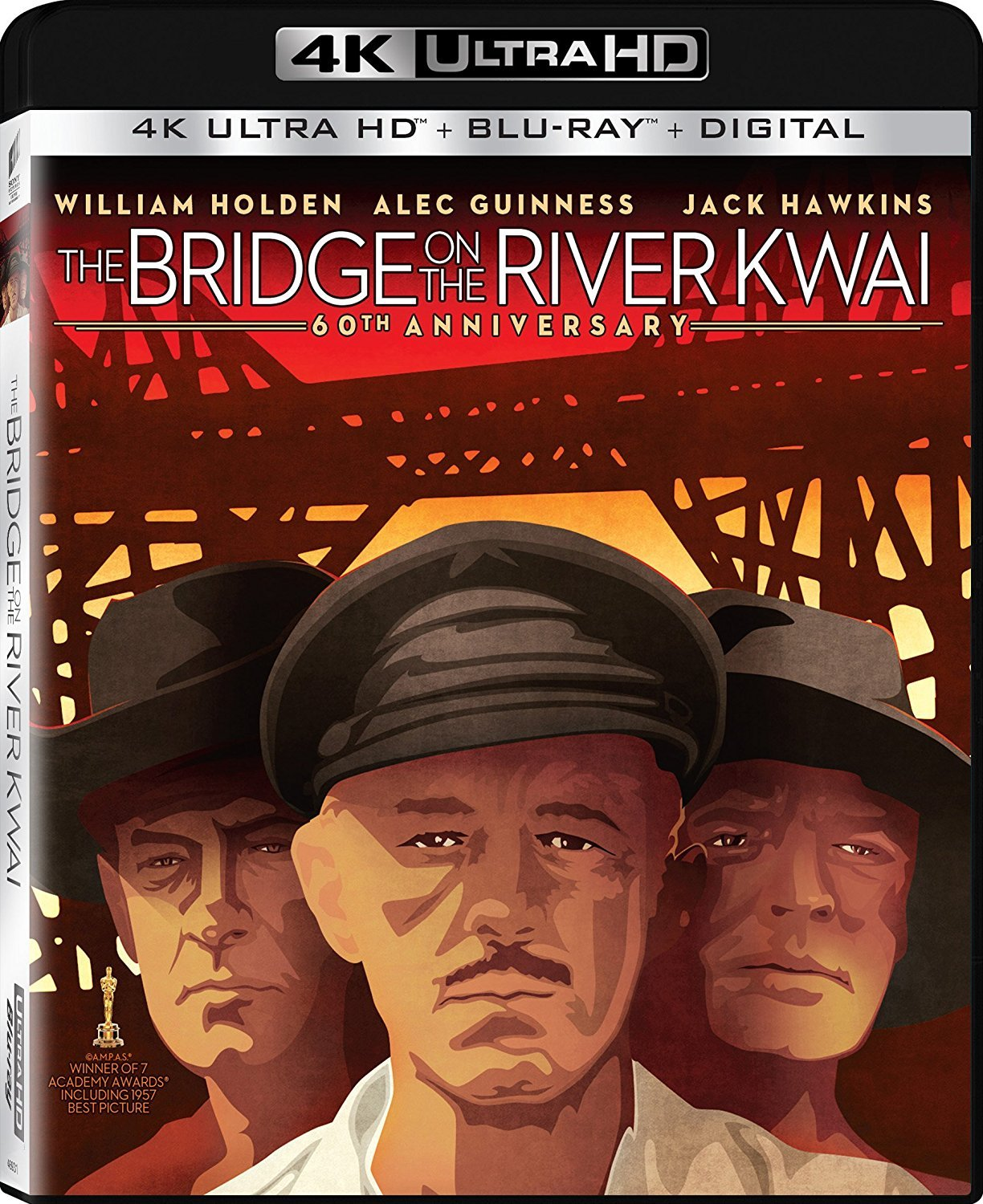 The Bridge on the River Kwai 4K (1957) Ultra HD Blu-ray