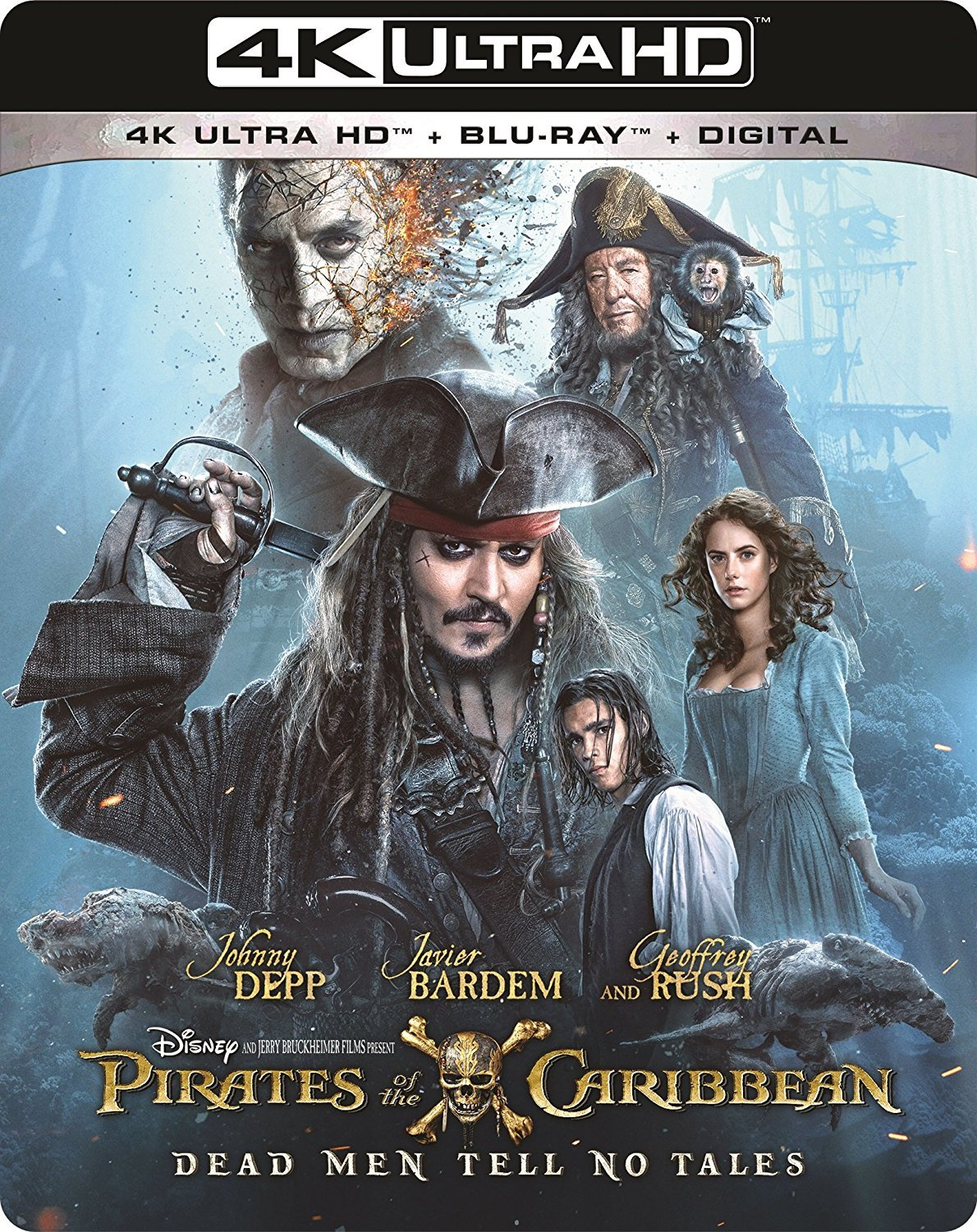Pirates of the Caribbean: Dead Men Tell No Tales 4K (2017) Ultra HD Blu-ray