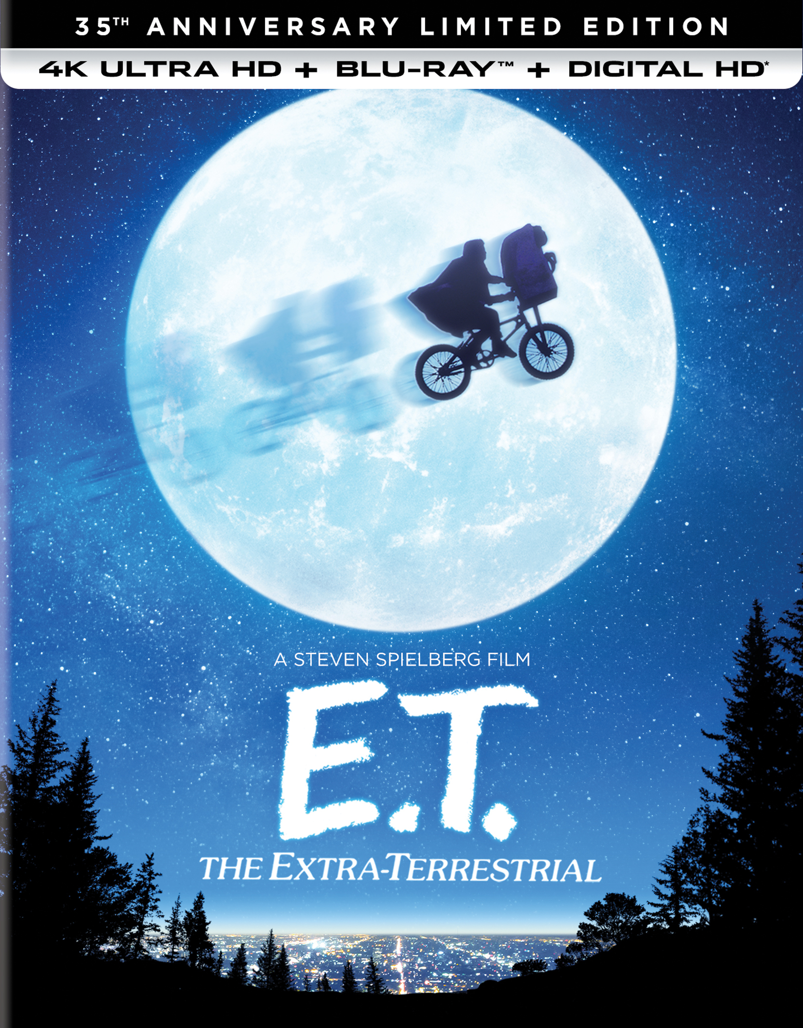 E.T.: The Extra-Terrestrial (1982) 35th Anniversary Limited Edition 4K Ultra HD Blu-ray
