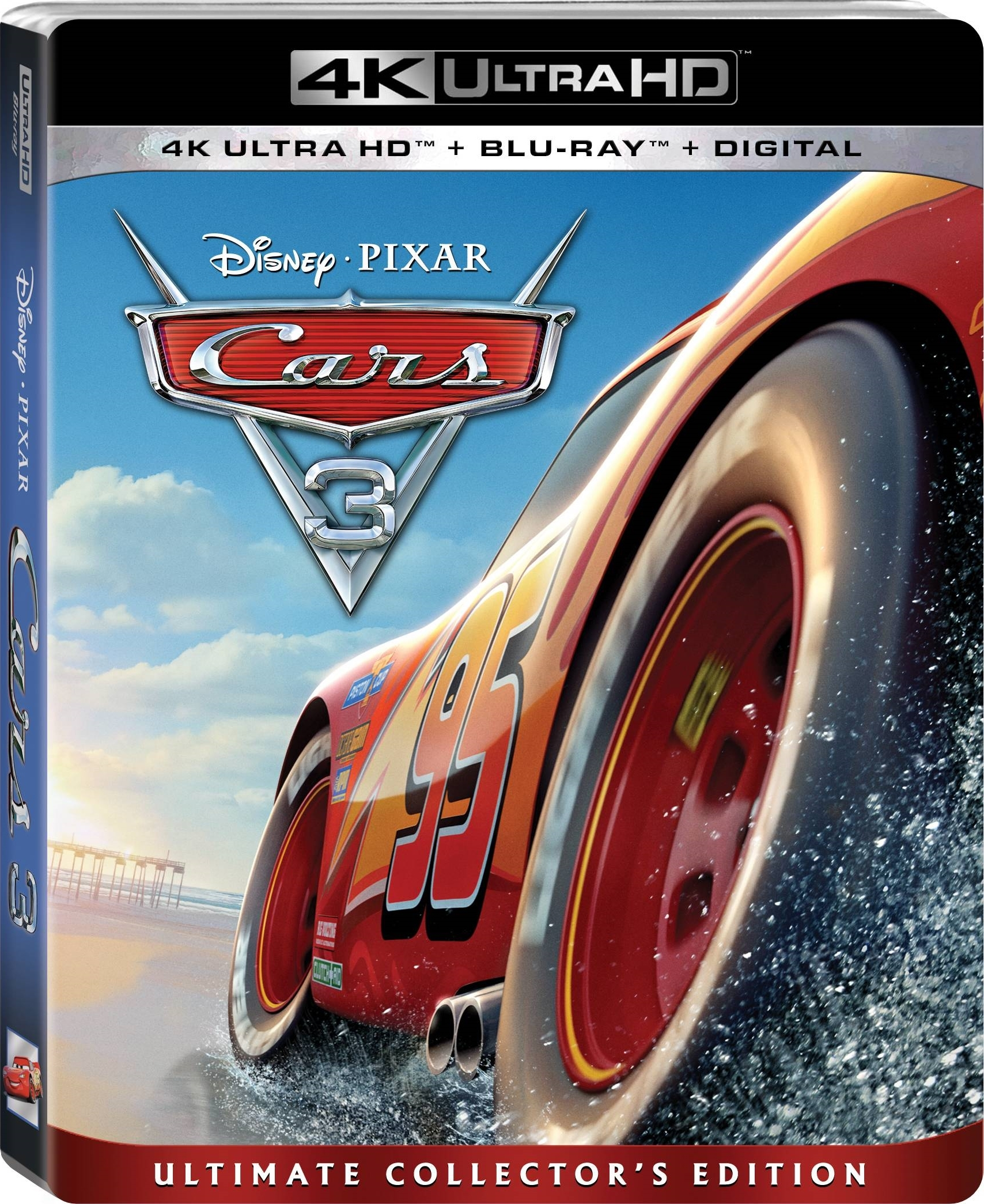 Cars 3 4K (2017) Ultra HD Blu-ray