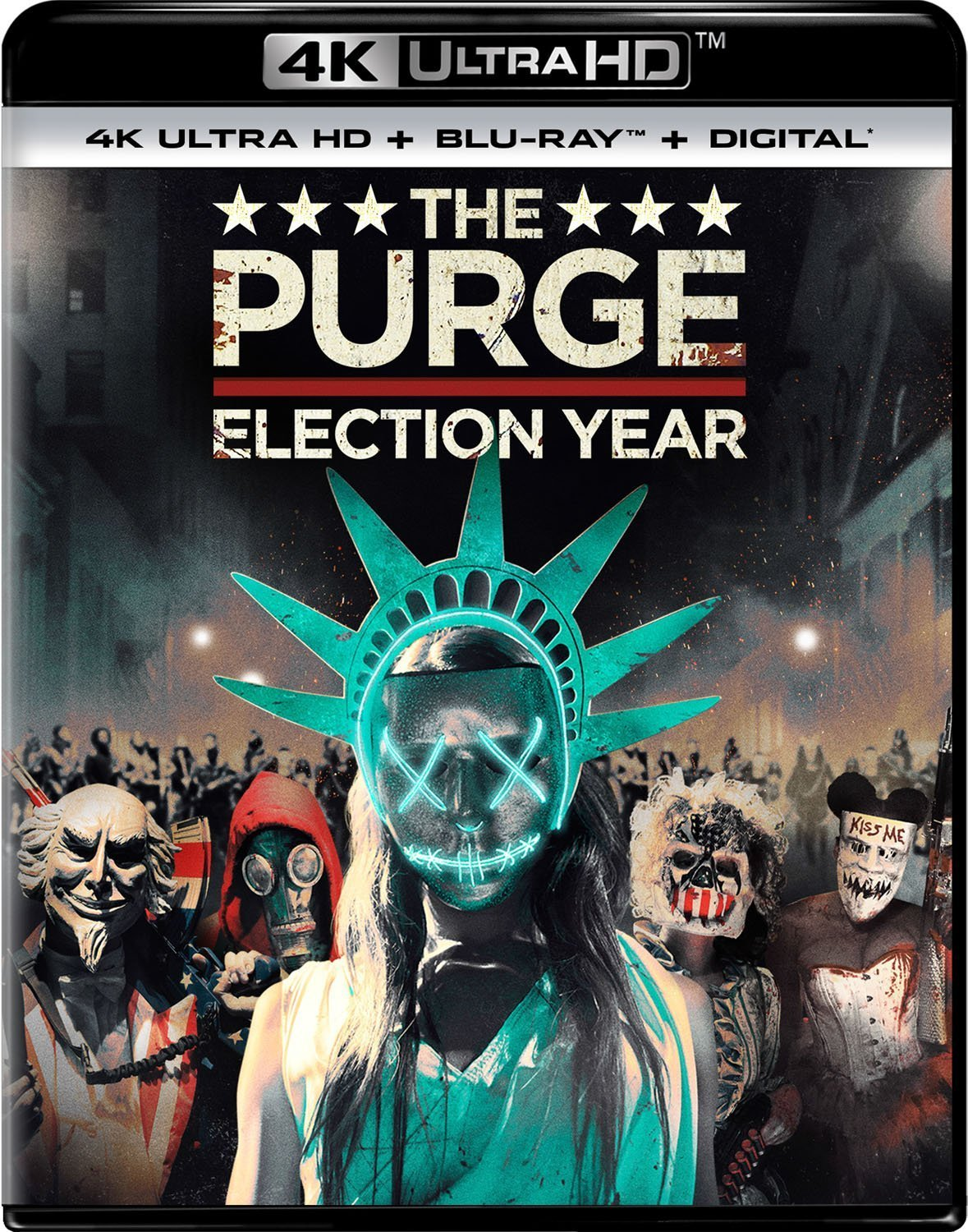 The Purge: Election Year 4K (2016) Ultra HD Blu-ray