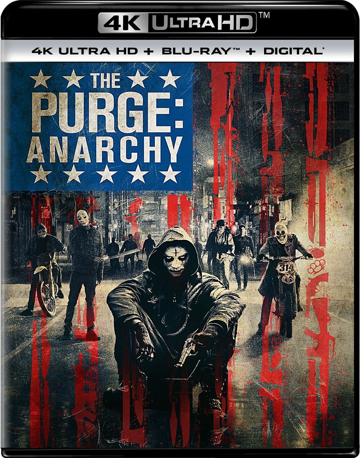 The Purge 2: Anarchy 4K (2014) Ultra HD Blu-ray