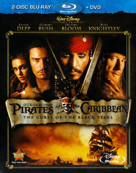 Pirates Of The Caribbean The Curse Of The Black Pearl Blu Ray Release Date March 1 2011 Blu Ray Dvd