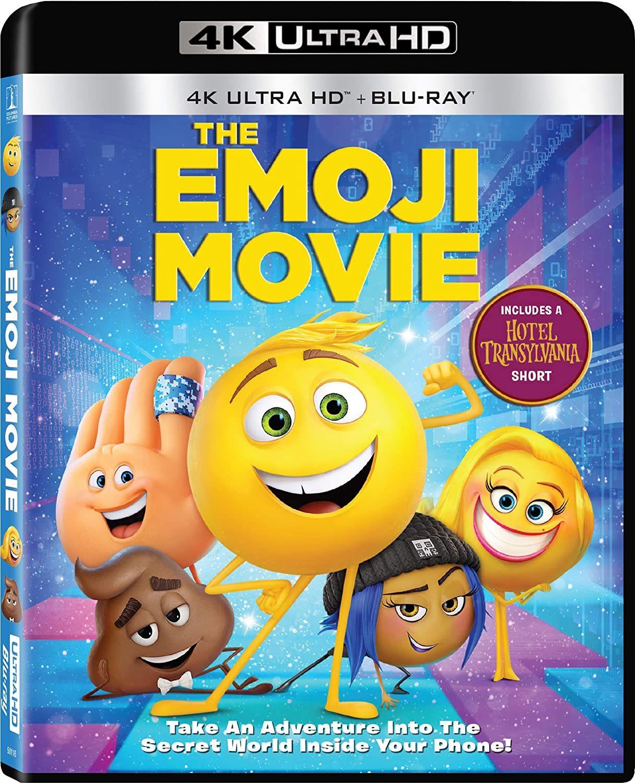 The Emoji Movie (2017) 4K Ultra HD Blu-ray