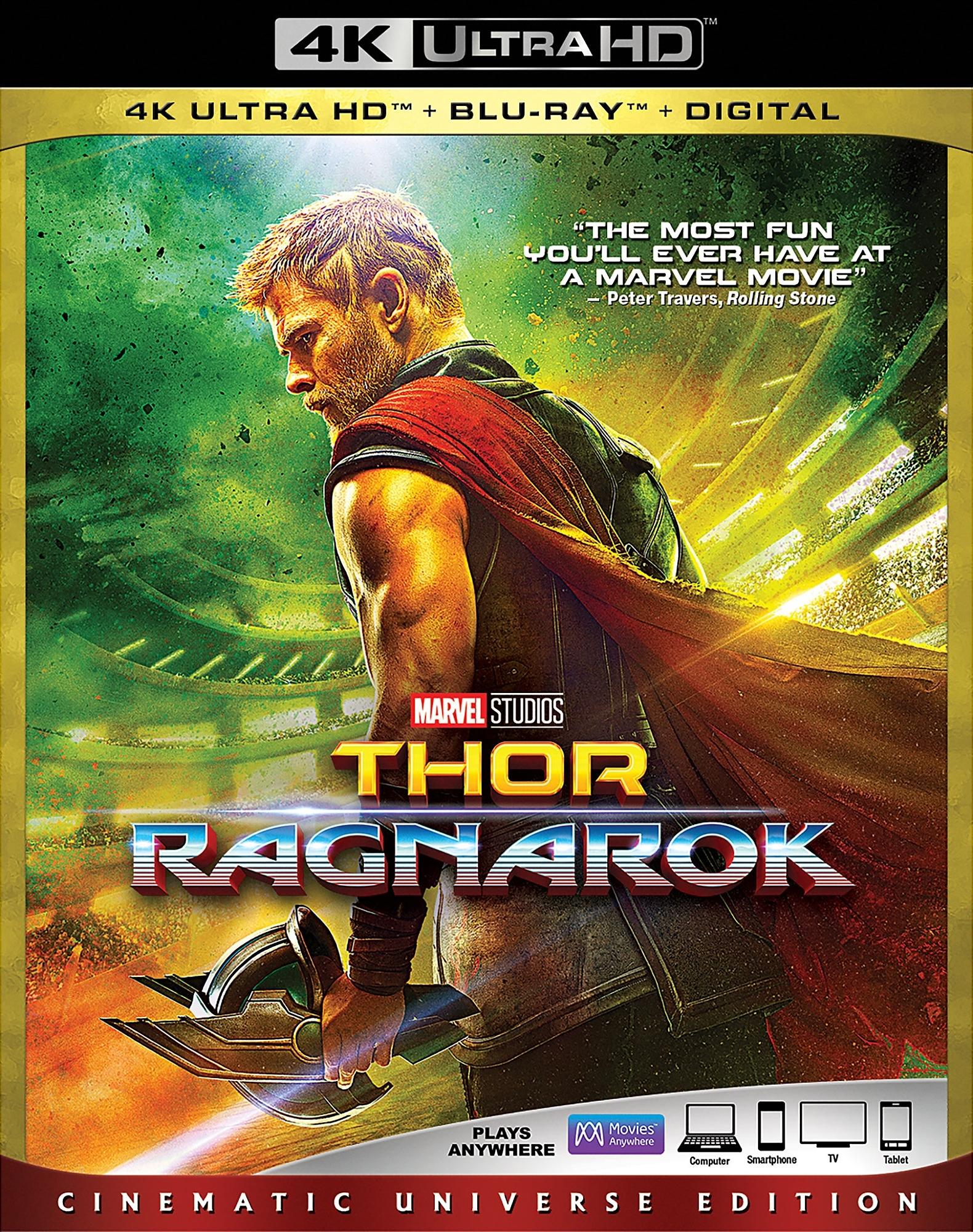 Thor: Ragnarok 4K (2017) 4K Ultra HD Blu-ray