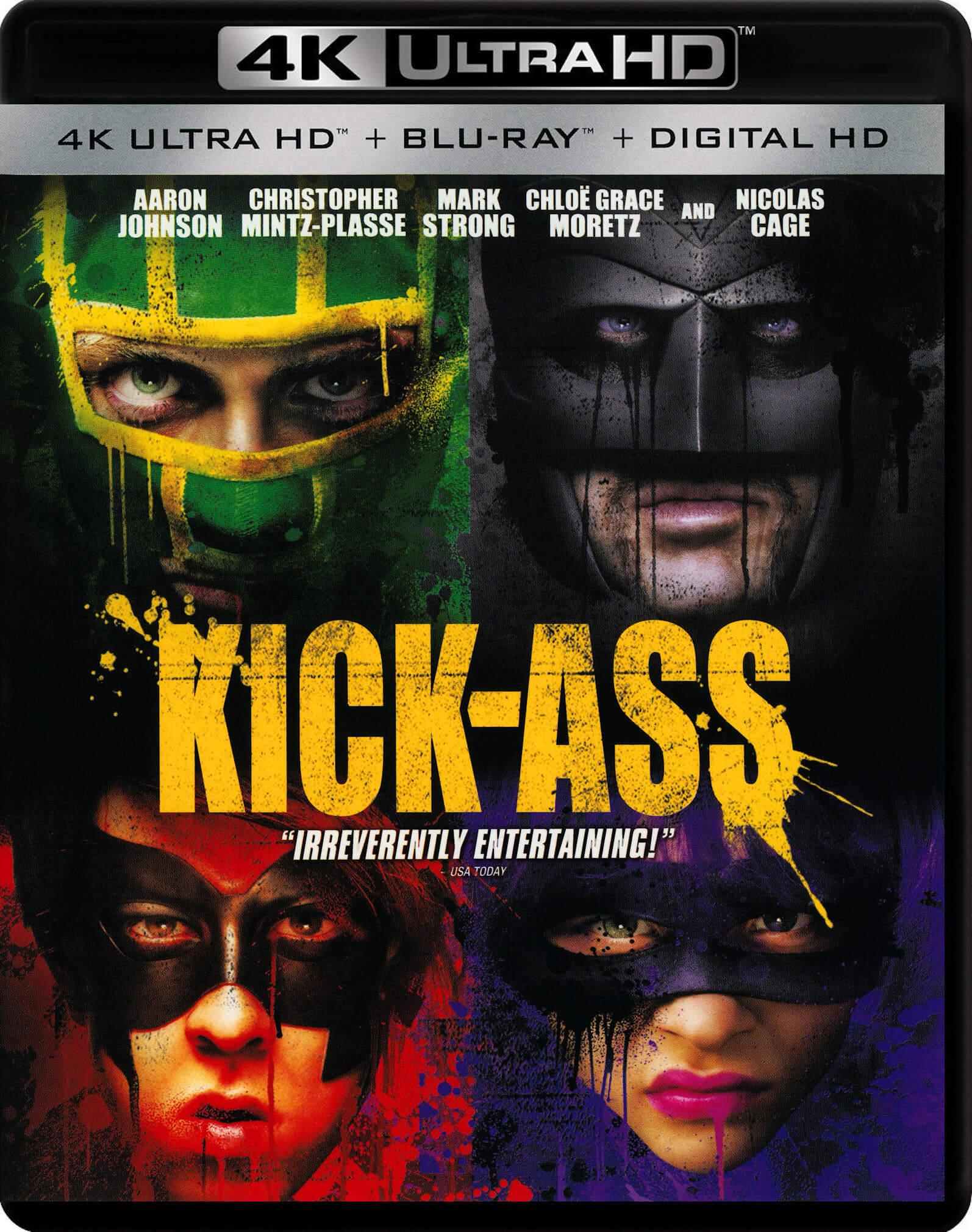 Kick-Ass 4K (2010) Ultra HD Blu-ray