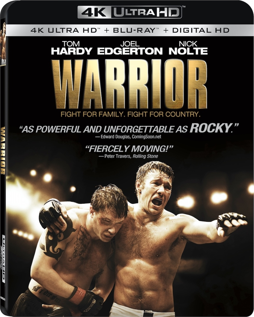 Warrior 4K (2011) Ultra HD Blu-ray