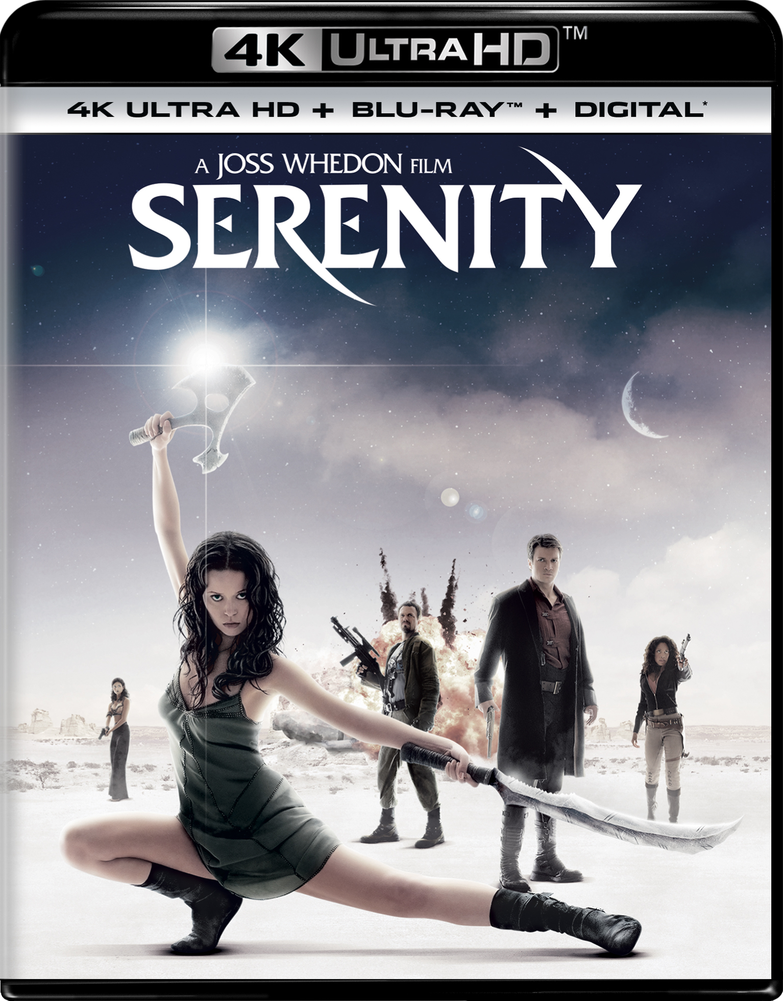Serenity 4K (2005) Ultra HD Blu-ray