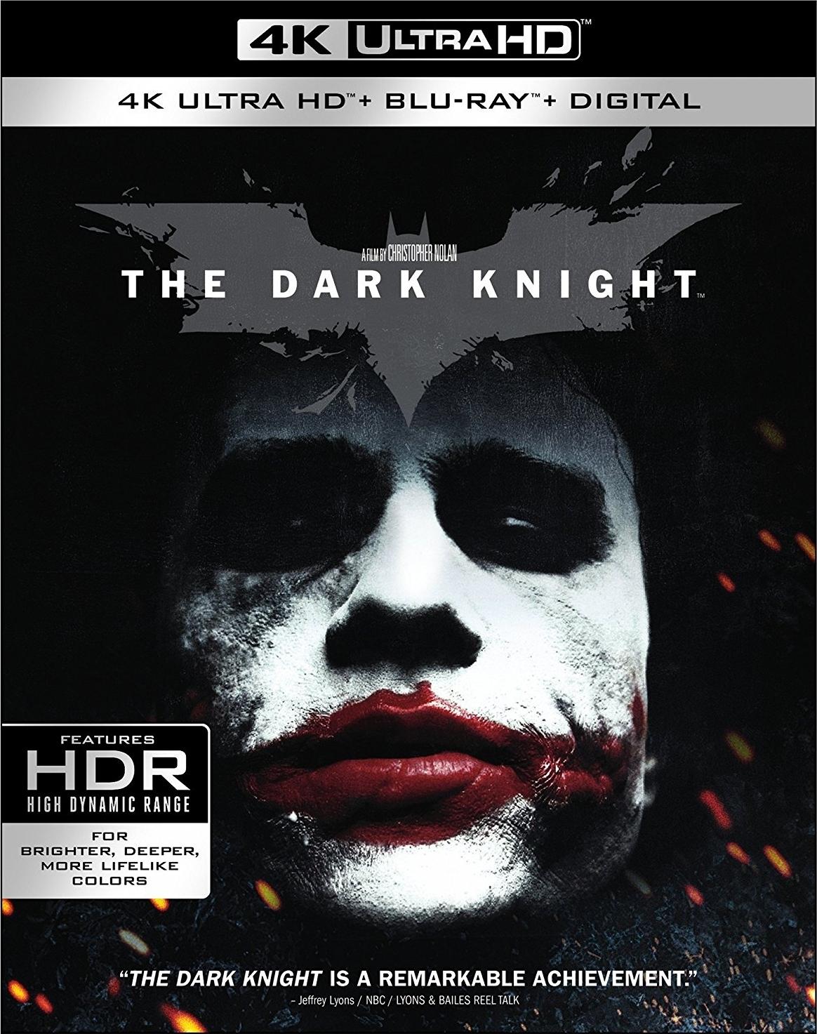 The Dark Knight 4K (2008) Ultra HD Blu-ray