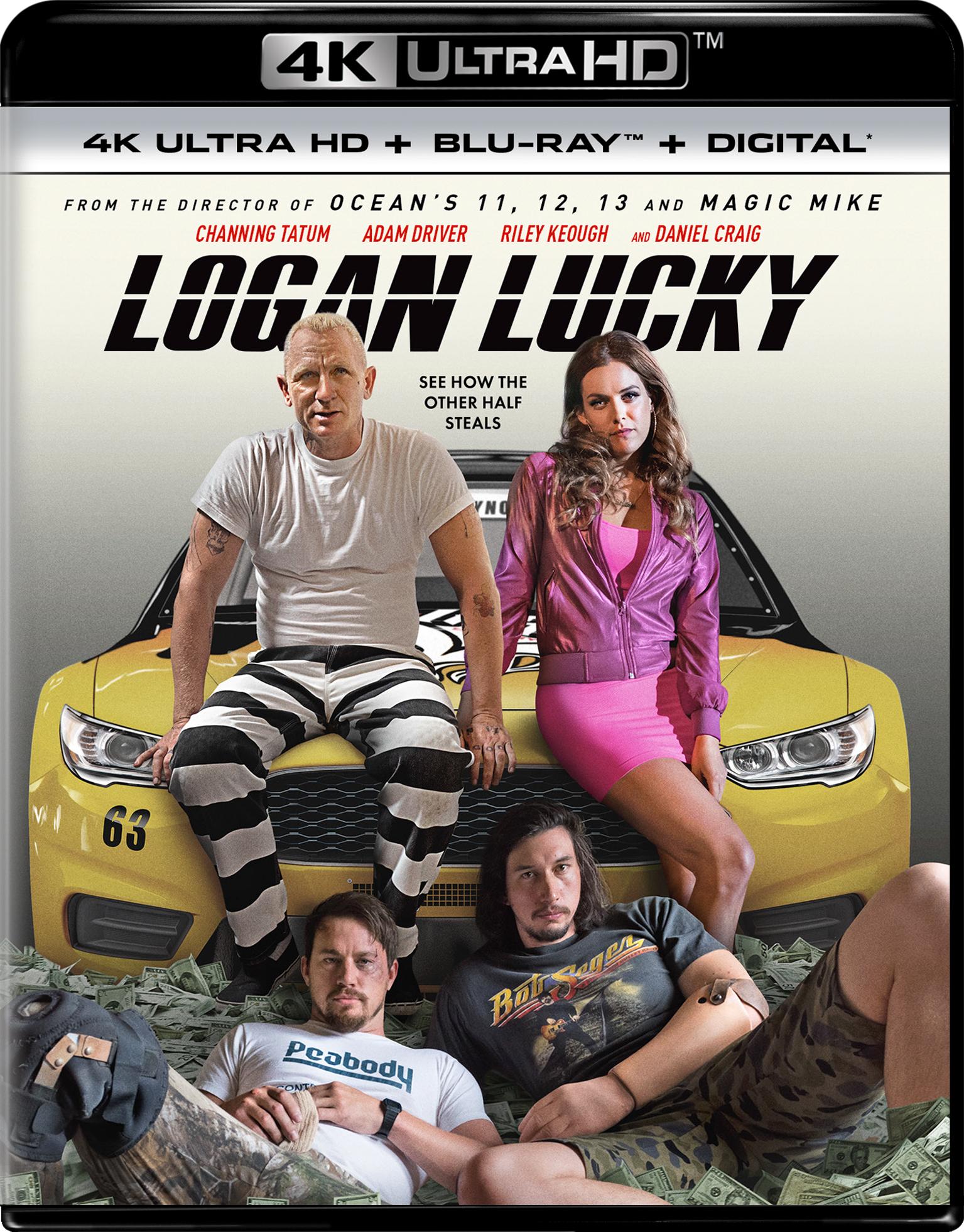 Logan Lucky (2017) 4K Ultra HD Blu-ray