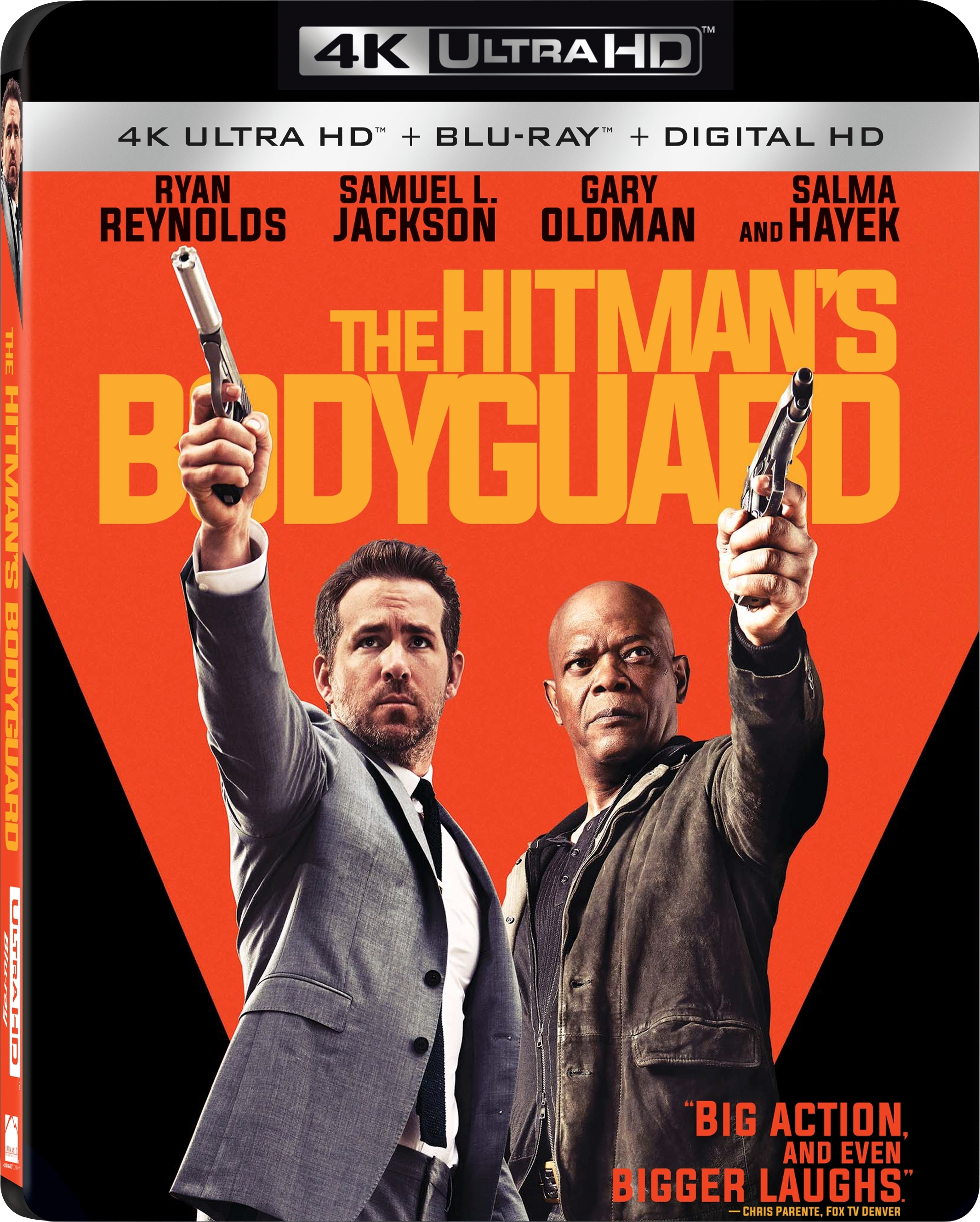 The Hitmans Bodyguard 4K (2017) UHD Ultra HD Blu-ray