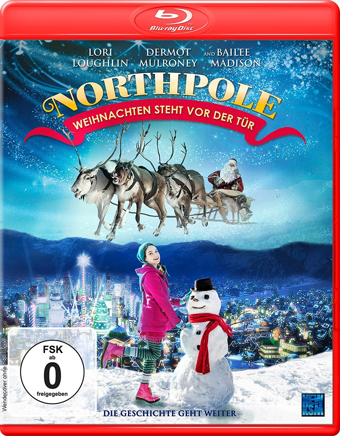 Northpole: Open for Christmas Blu-ray (Germany)