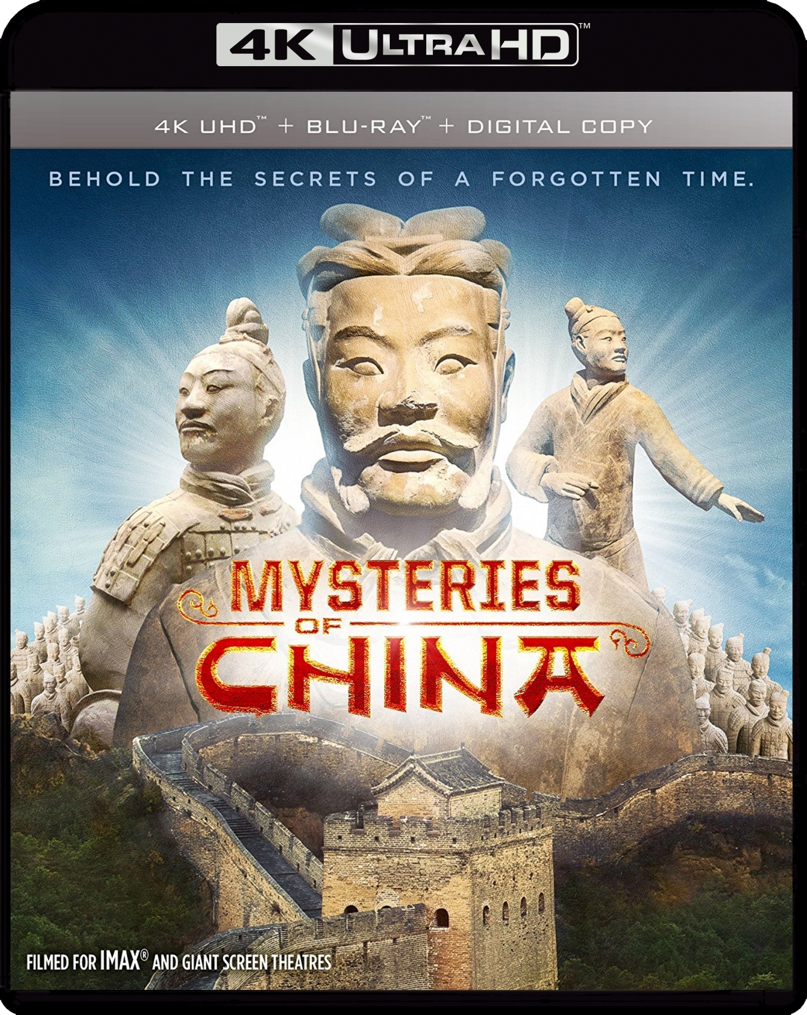 Mysteries of Ancient China 4K (2016) Ultra HD Blu-ray