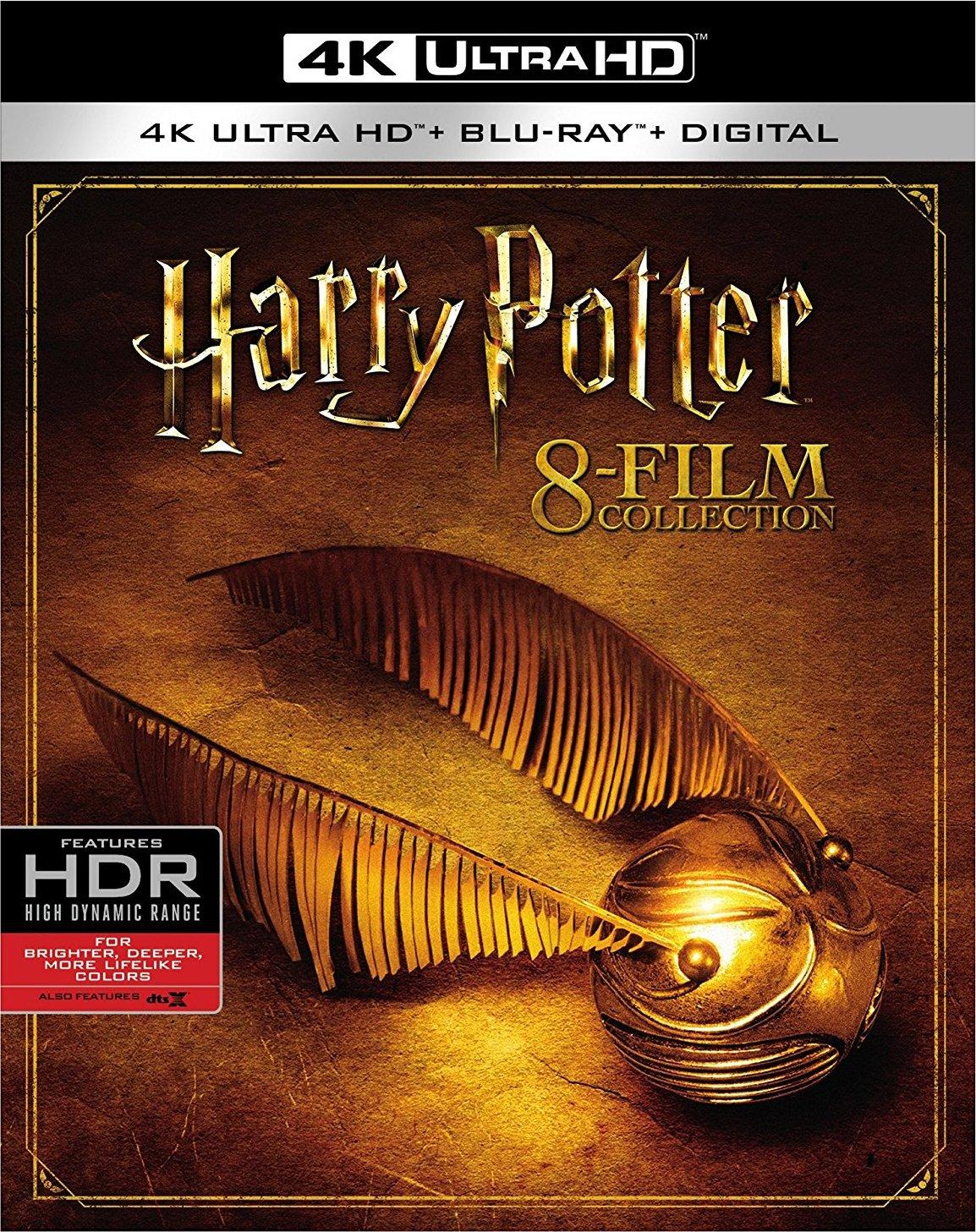 Harry Potter: 8-Film Collection 4K (2001-2011) UHD Ultra HD Blu-ray