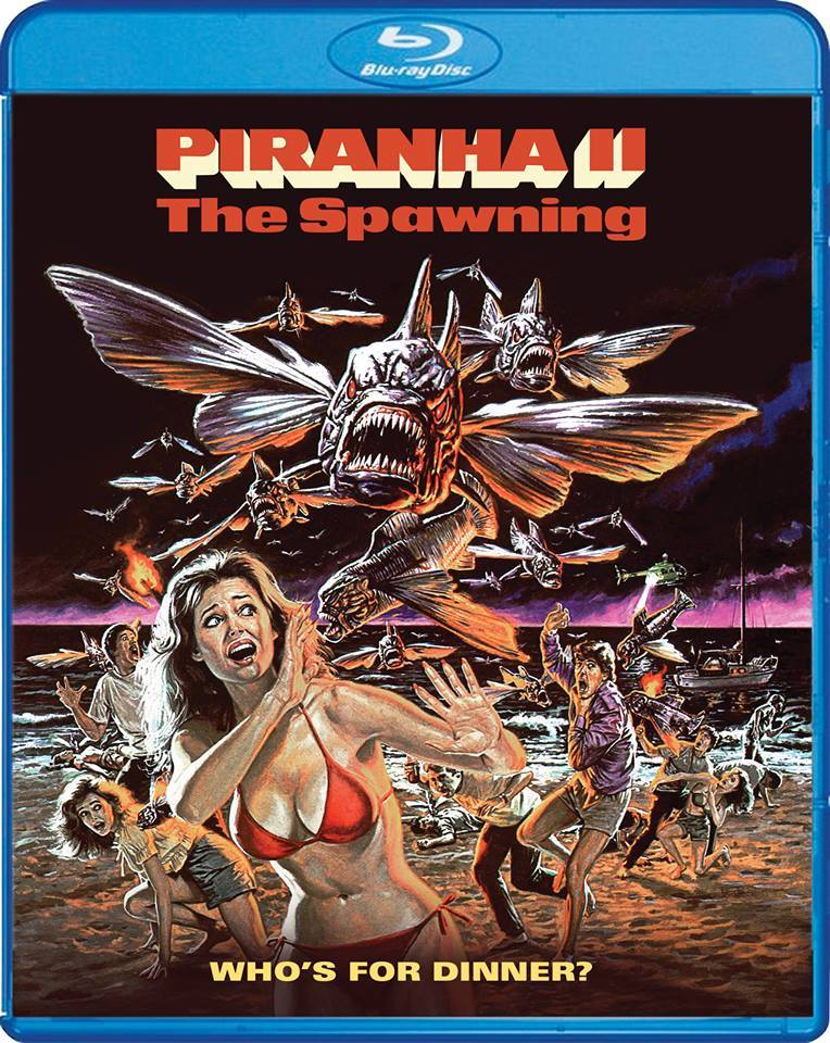 Piranha II: The Spawning (1981) Blu-ray