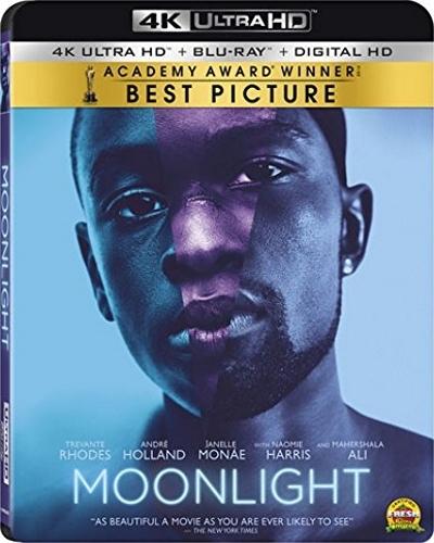 Moonlight 4k (2016) UHD Ultra HD Blu-ray