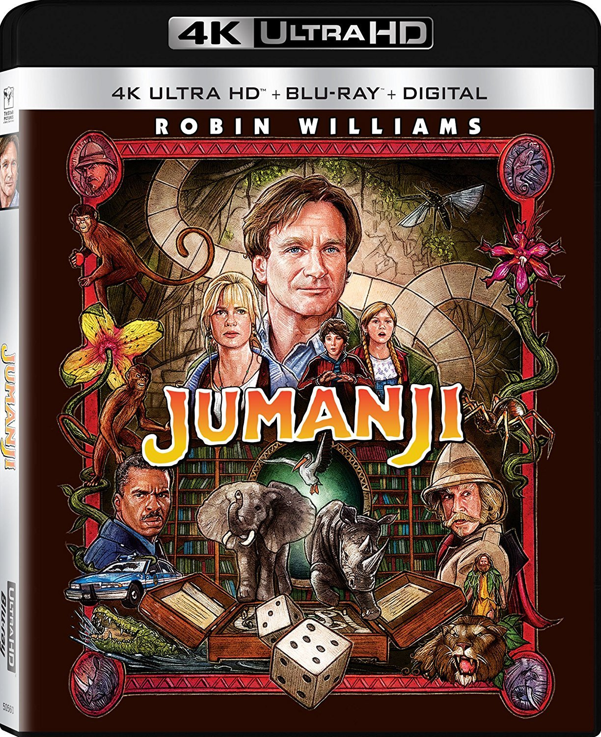 Jumanji 4K (1995) Ultra HD Blu-ray