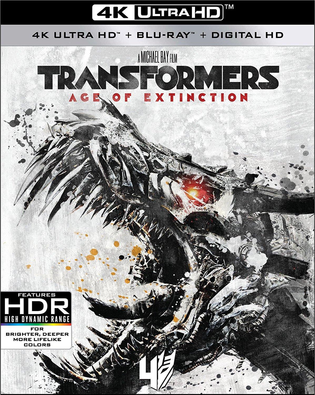 Transformers: Age of Extinction 4K (2014) UHD Ultra HD Blu-ray