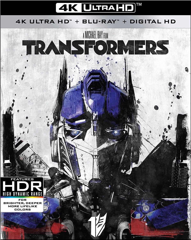 Transformers 4K (2007) UHD Ultra HD Blu-ray