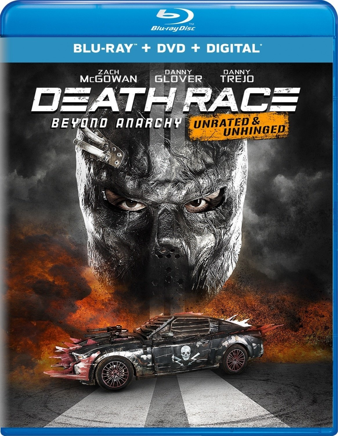 Death Race: Beyond Anarchy (Unrated & Unhinged)(Blu-ray)(Region Free)