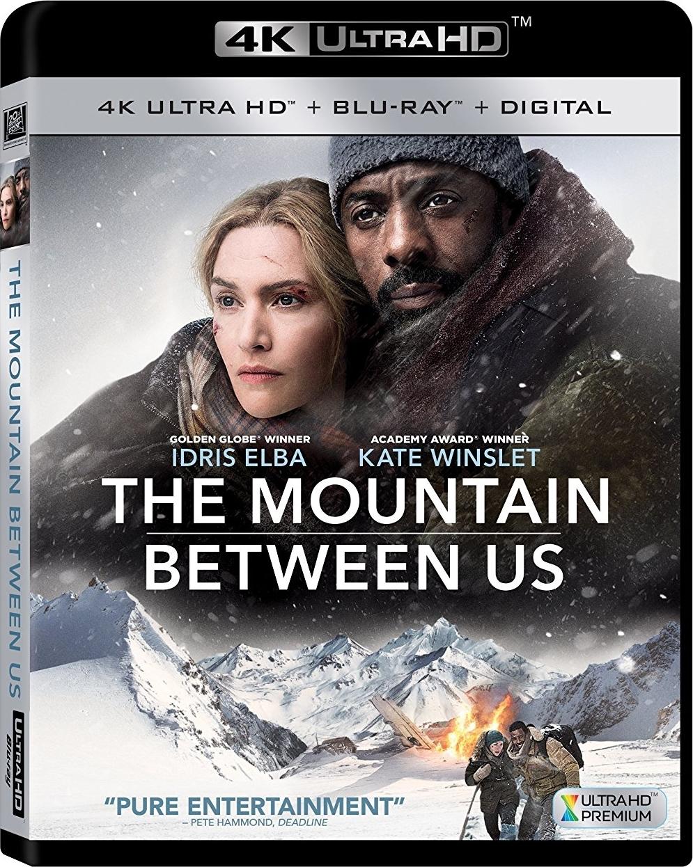 The Mountain Between Us 4K (2017) Ultra HD Blu-ray
