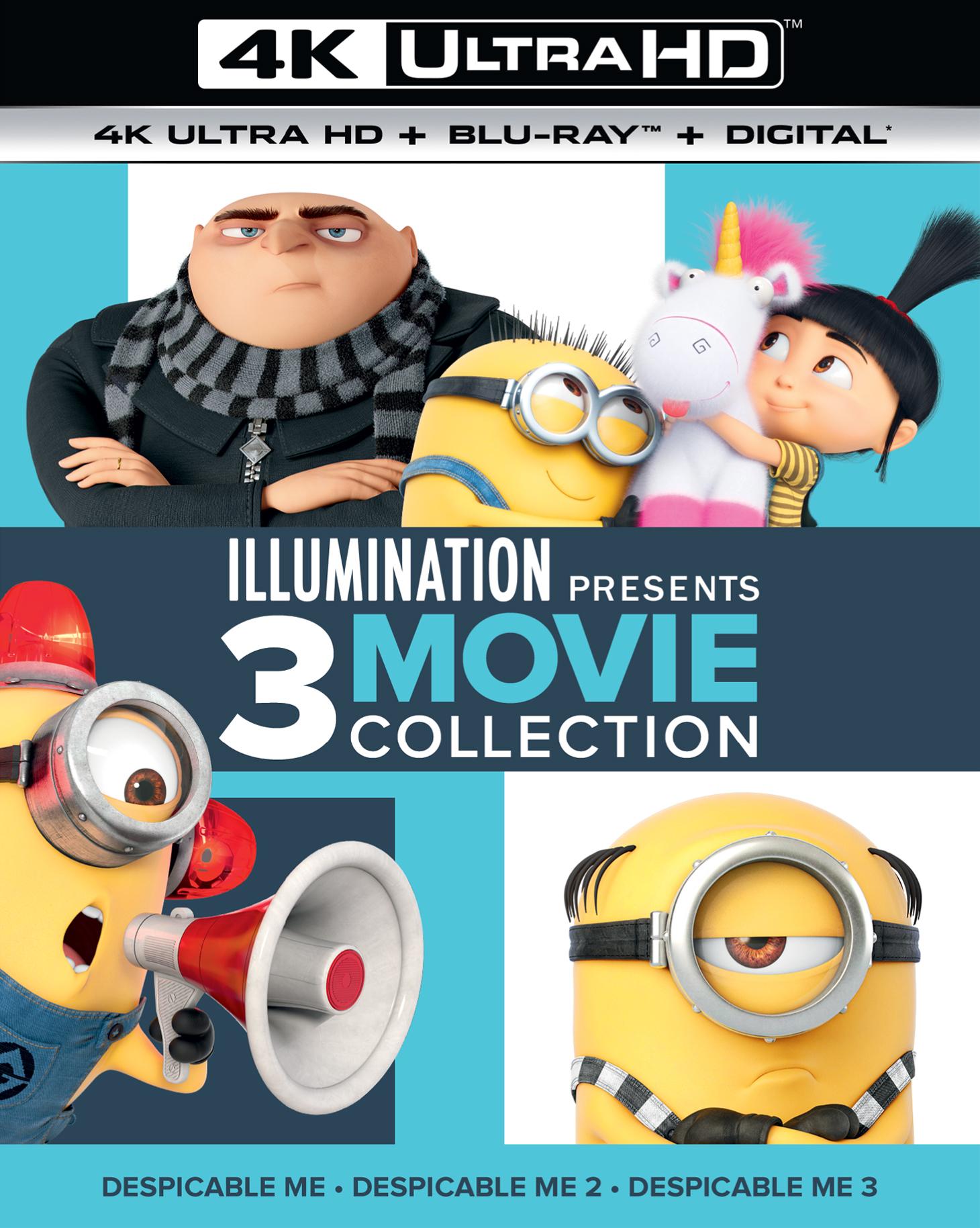 Illumination Presents: 3-Movie Collection 4K (2010-2017) 4K Ultra HD Blu-ray
