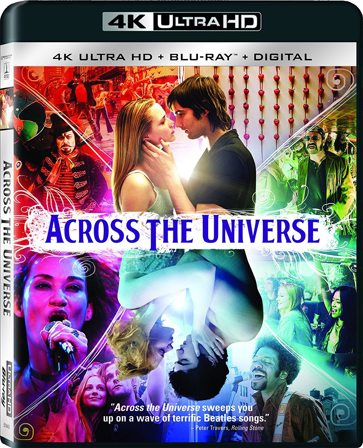 Across the Universe 4K (2007) UHD Ultra HD Blu-ray