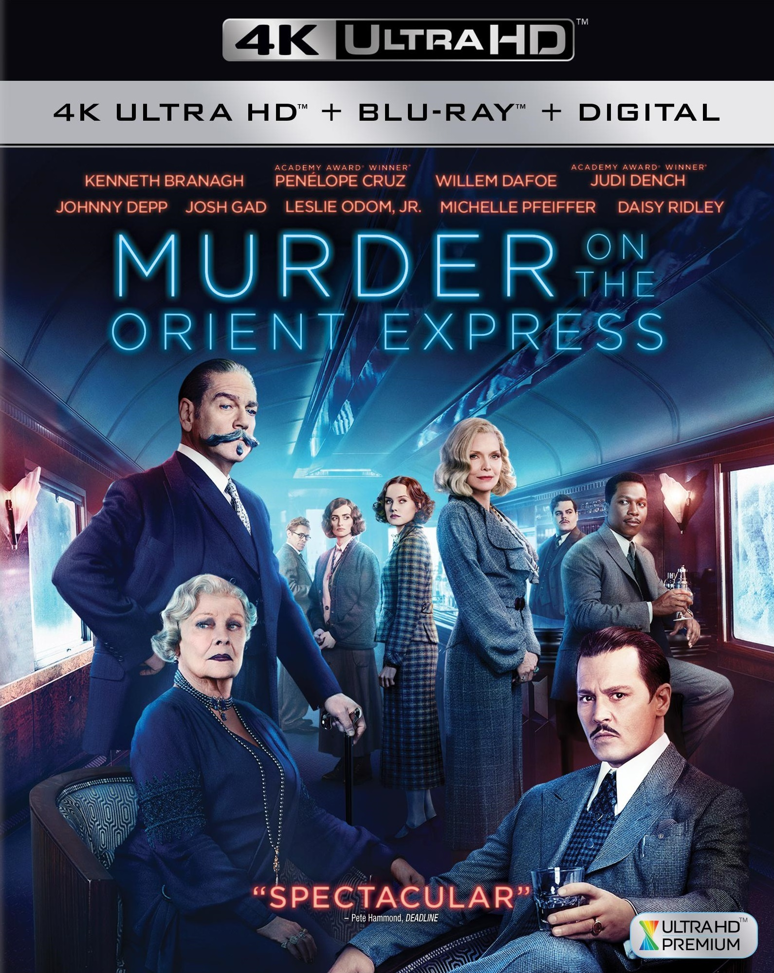 Murder on the Orient Express 4K (2017) Ultra HD Blu-ray