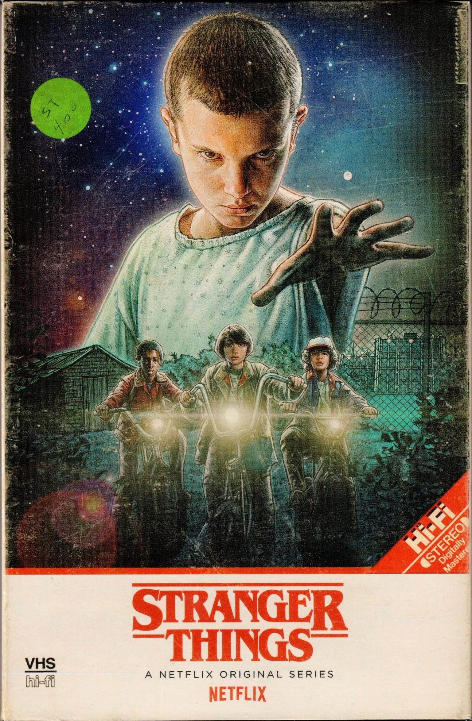 Stranger Things: Season 1 4K (Collectors Edition)(2016) Ultra HD Blu-ray