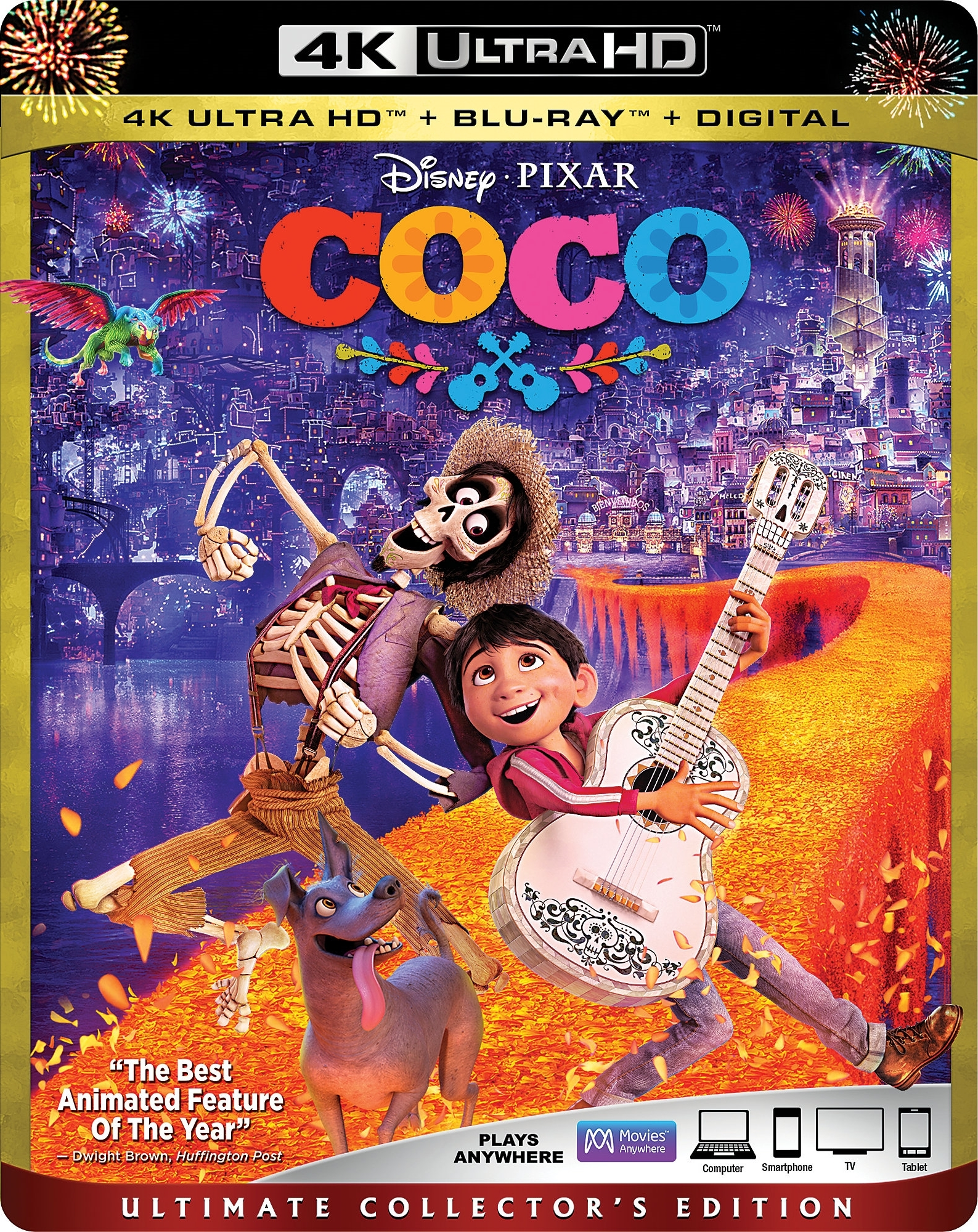 Coco 4K (2017) Ultra HD Blu-ray
