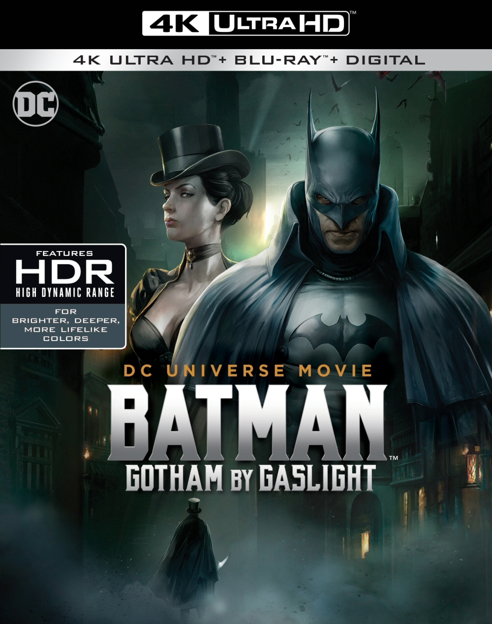 Batman: Gotham by Gaslight 4K (2018) UHD Ultra HD Blu-ray
