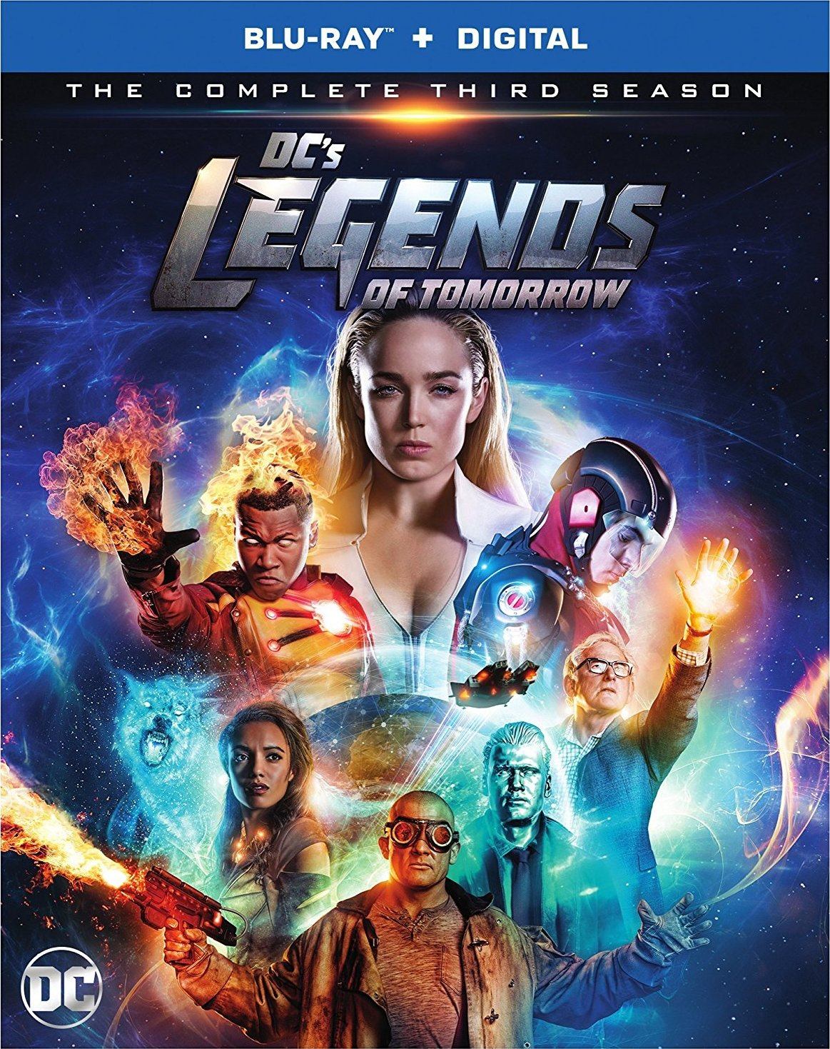 DC's Legends of Tomorrow: The Complete Third Season (TV) (2017) Blu-ray
