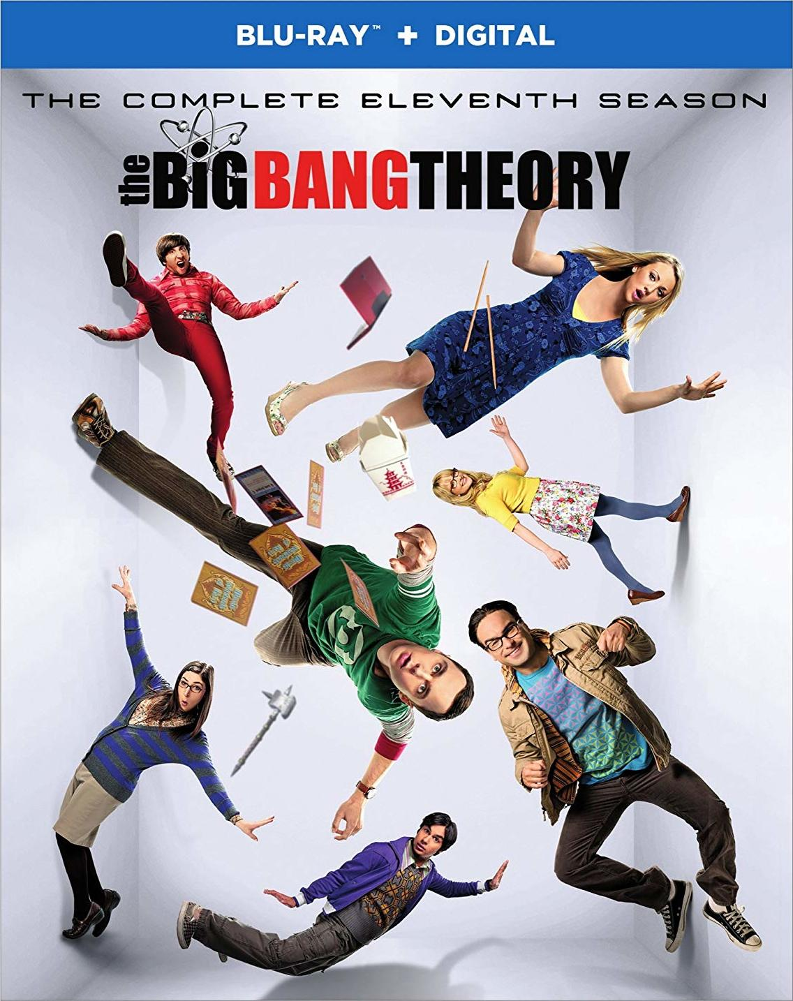 The Big Bang Theory: The Complete Eleventh Season (TV) (2017-2018) Blu-ray