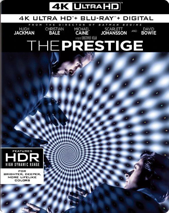 The Prestige (2006) 4K Ultra HD Blu-ray