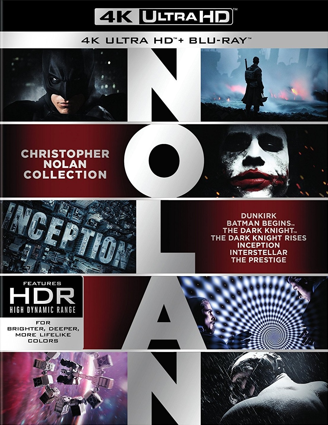 Christopher Nolan Collection 4K (2005-2017) Ultra HD Blu-ray