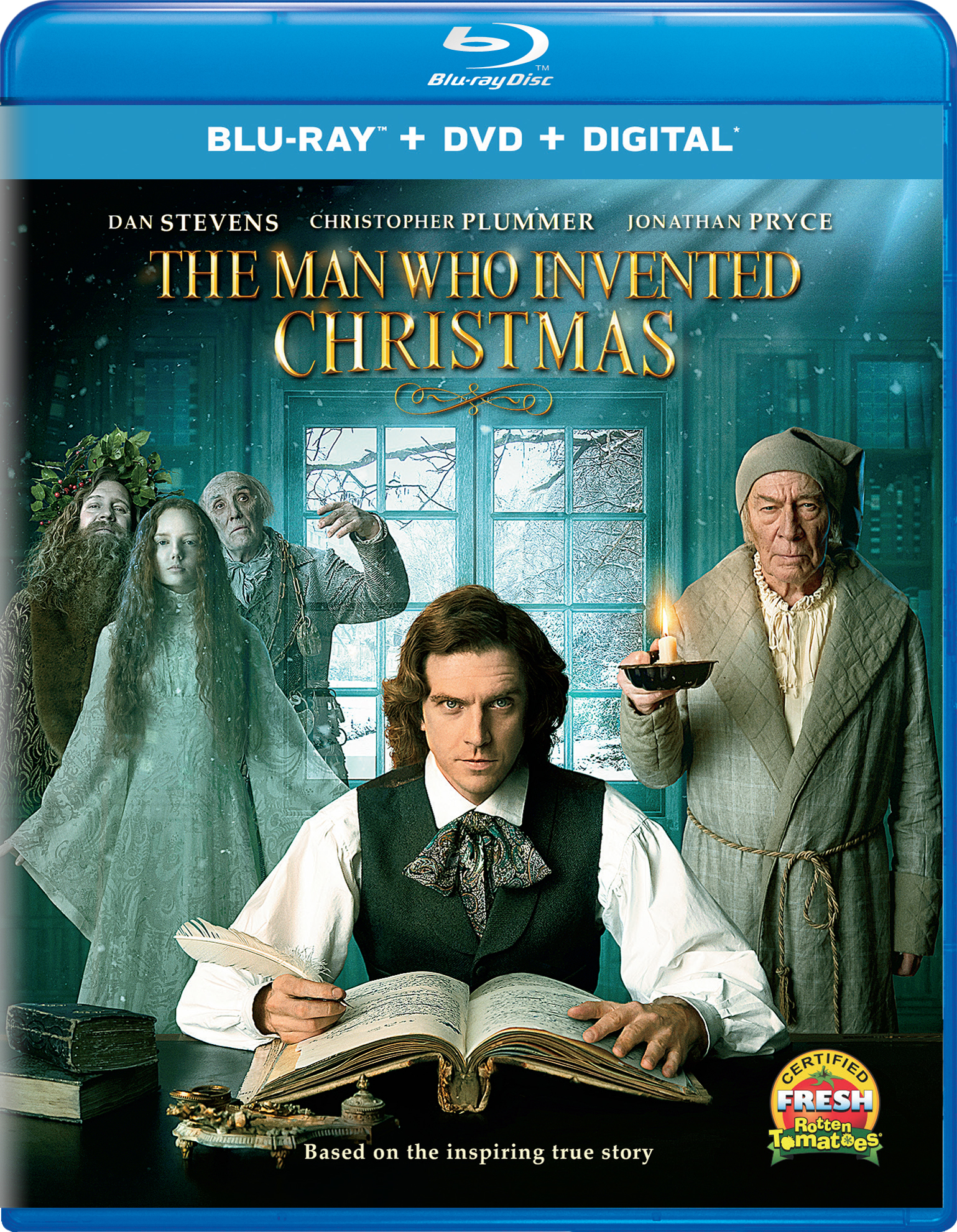 The Man Who Invented Christmas (2017) Blu-ray