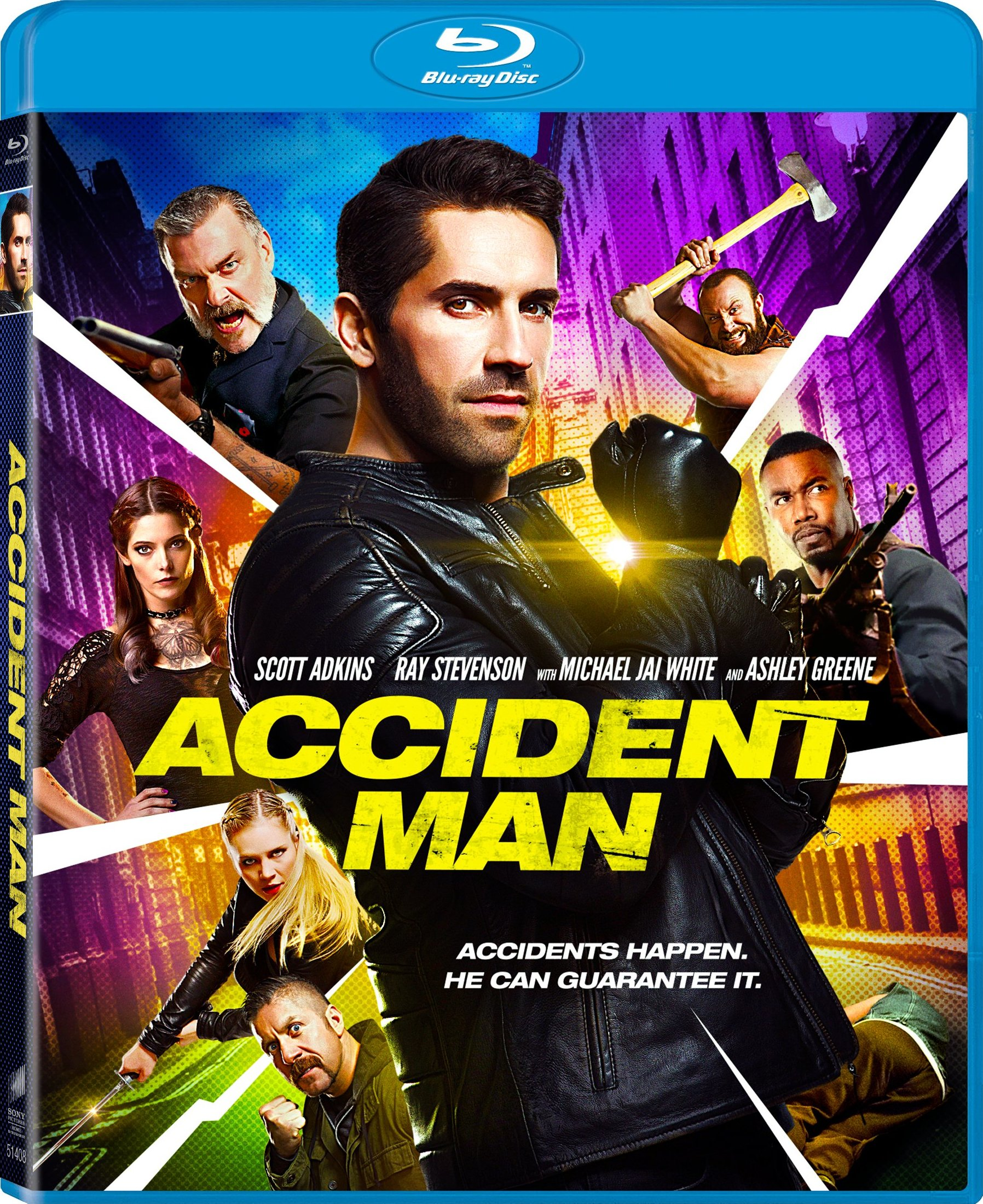 Accident Man (2017) Blu-ray
