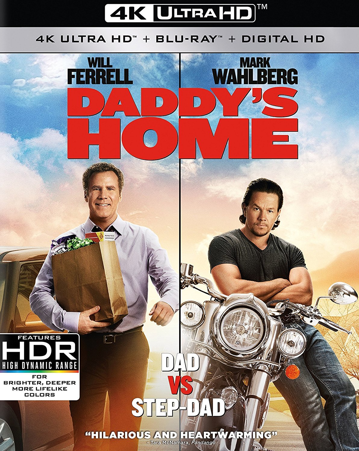 Daddys Home 4K (2015) Ultra HD Blu-ray