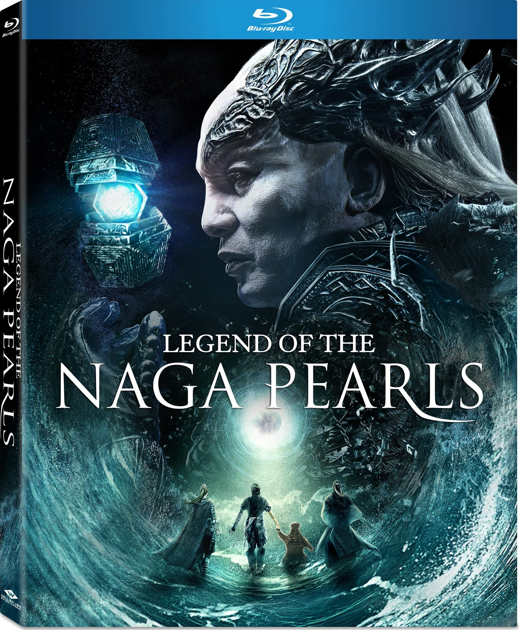 Legend of the Naga Pearls (2017) Blu-ray