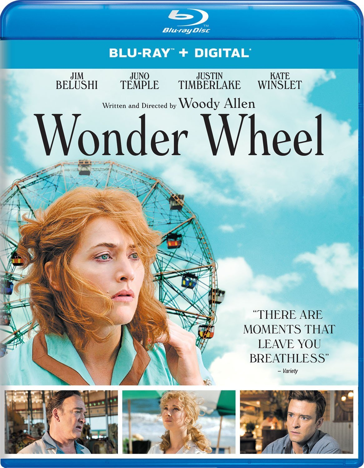 Wonder Wheel (2017) Blu-ray