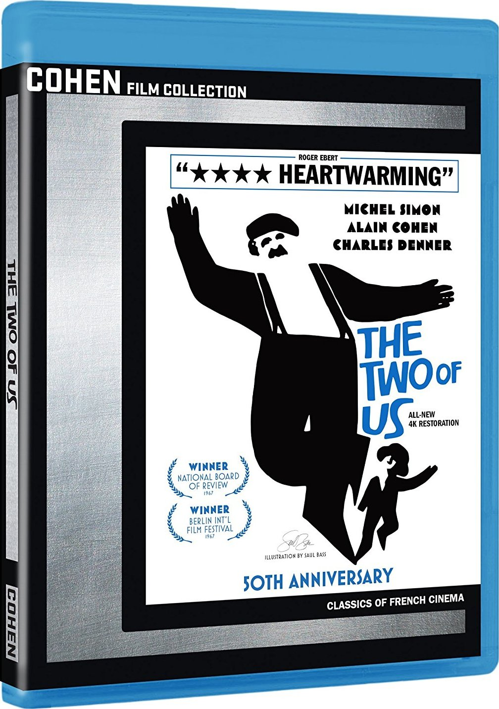 The Two of Us (1967) 50th Anniversary Edition Blu-ray