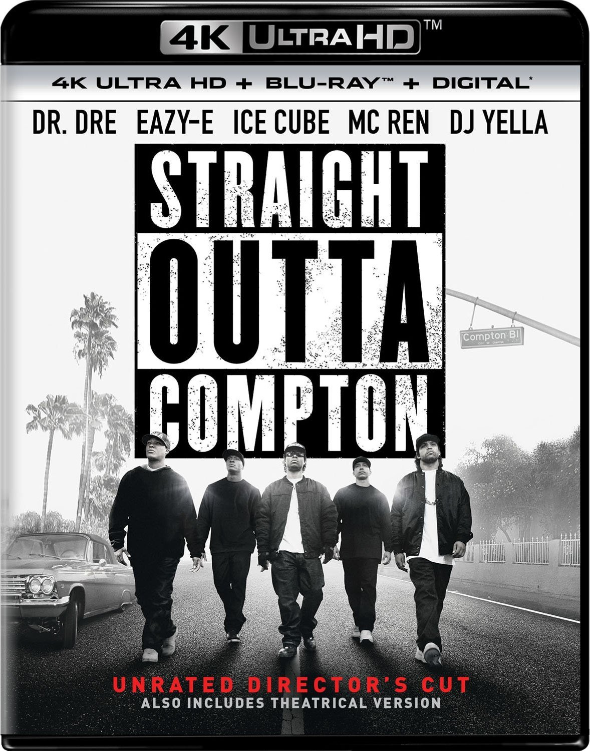 Straight Outta Compton 4K (2015) Ultra HD Blu-ray