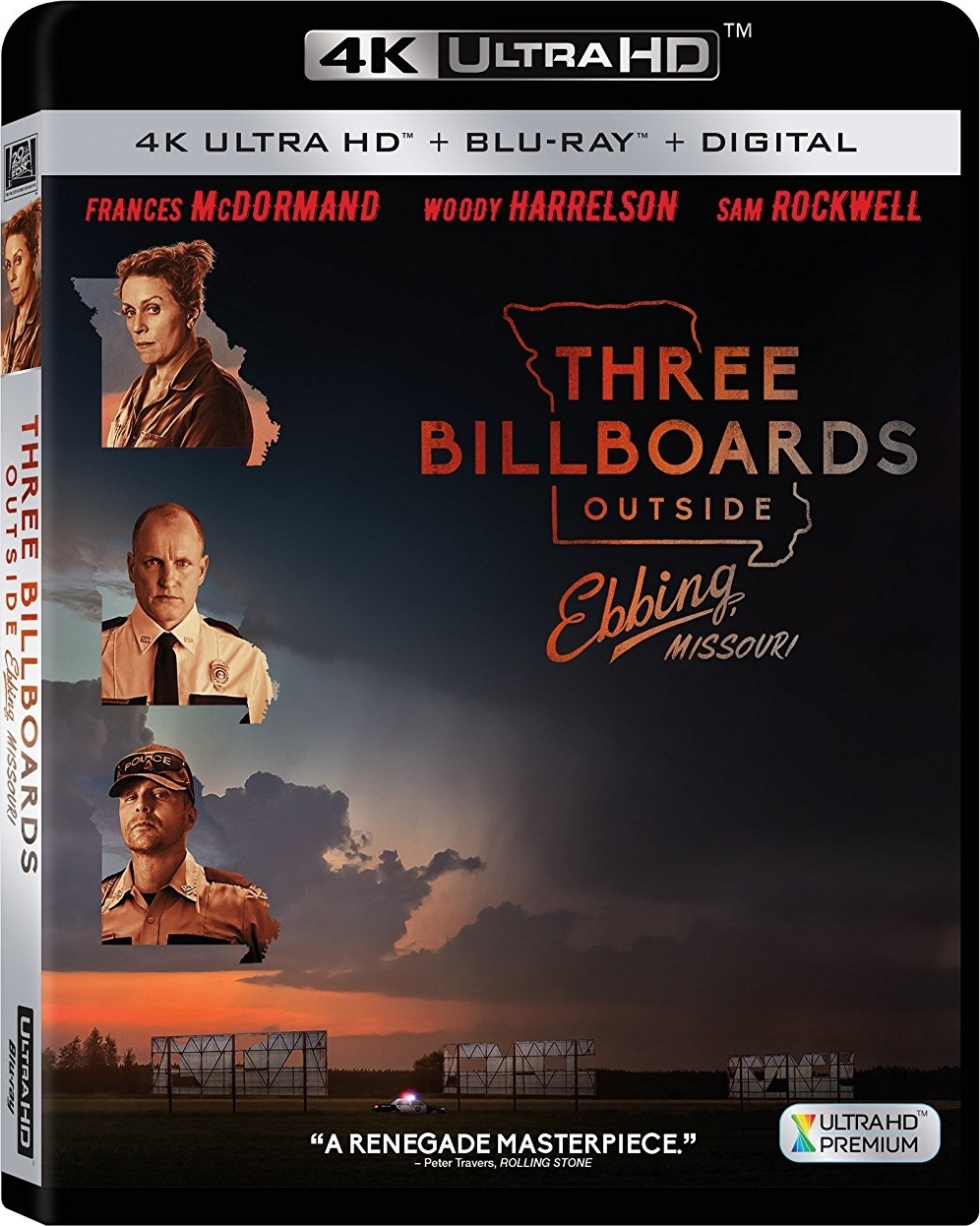 Three Billboards Outside Ebbing, Missouri 4K (2017) Ultra HD Blu-ray