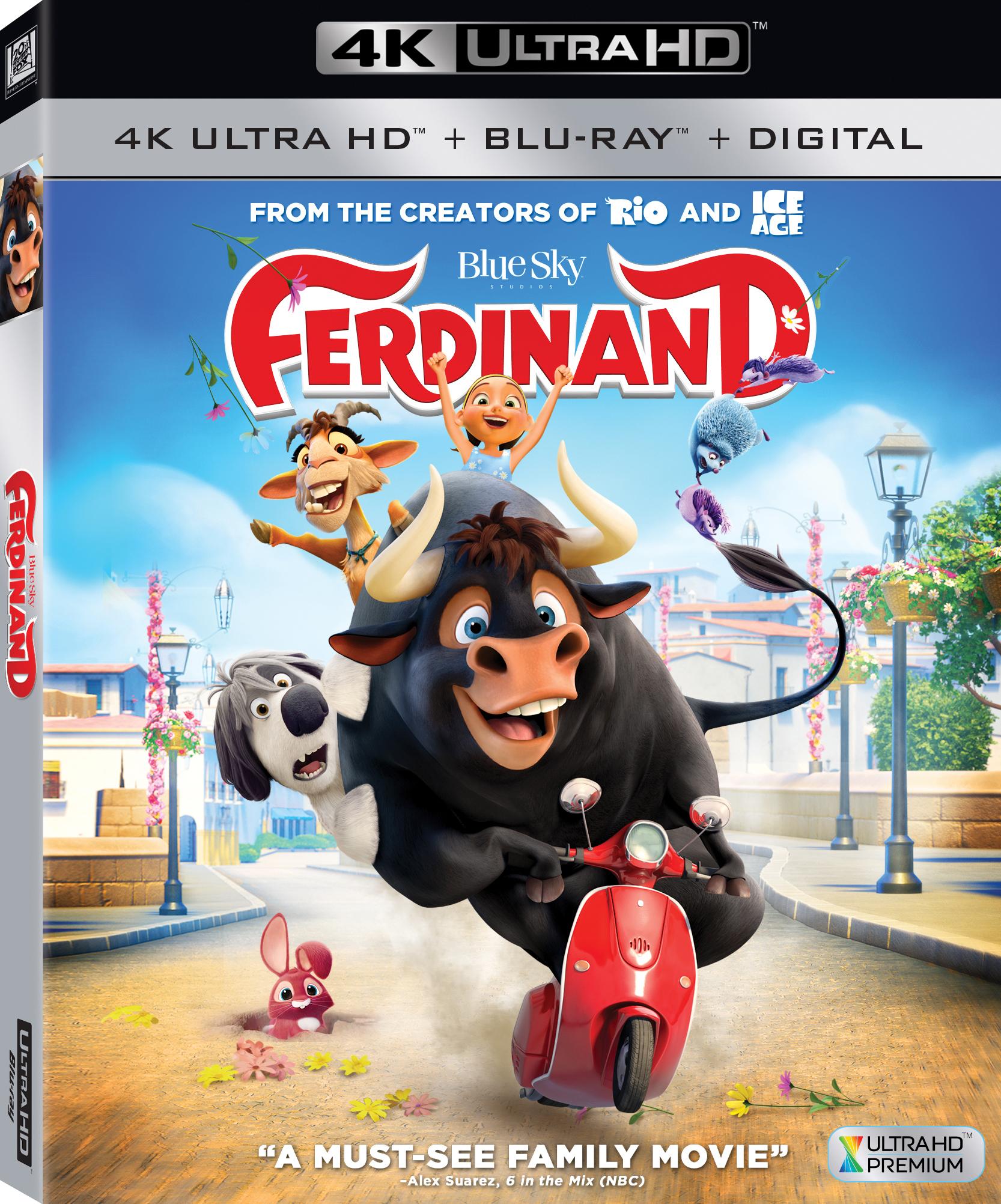 Ferdinand 4K (2017) 4K Ultra HD Blu-ray